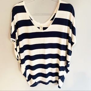 Free People We The Free Oversized Striped Tee